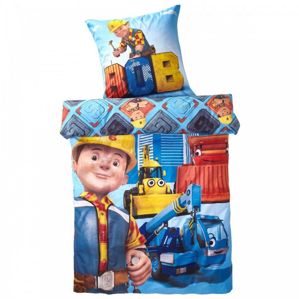 Bob Der Baumeister Kinderbettwäsche 135X200 Cm Preiswert  Dänisches von Bob Der Baumeister Bettwäsche 135X200 Bild