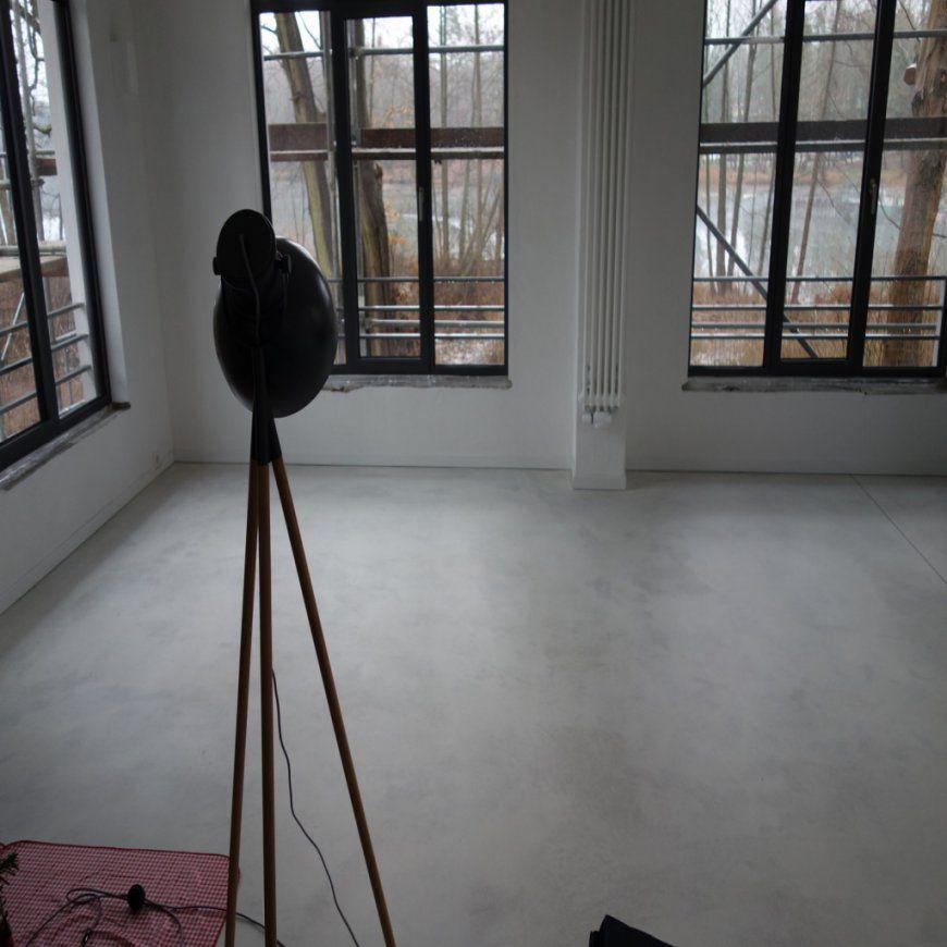 Bodenbelag Estrich Geschliffen In Bezug Auf Gegenwart Haus von Geschliffener Estrich Als Bodenbelag Bild