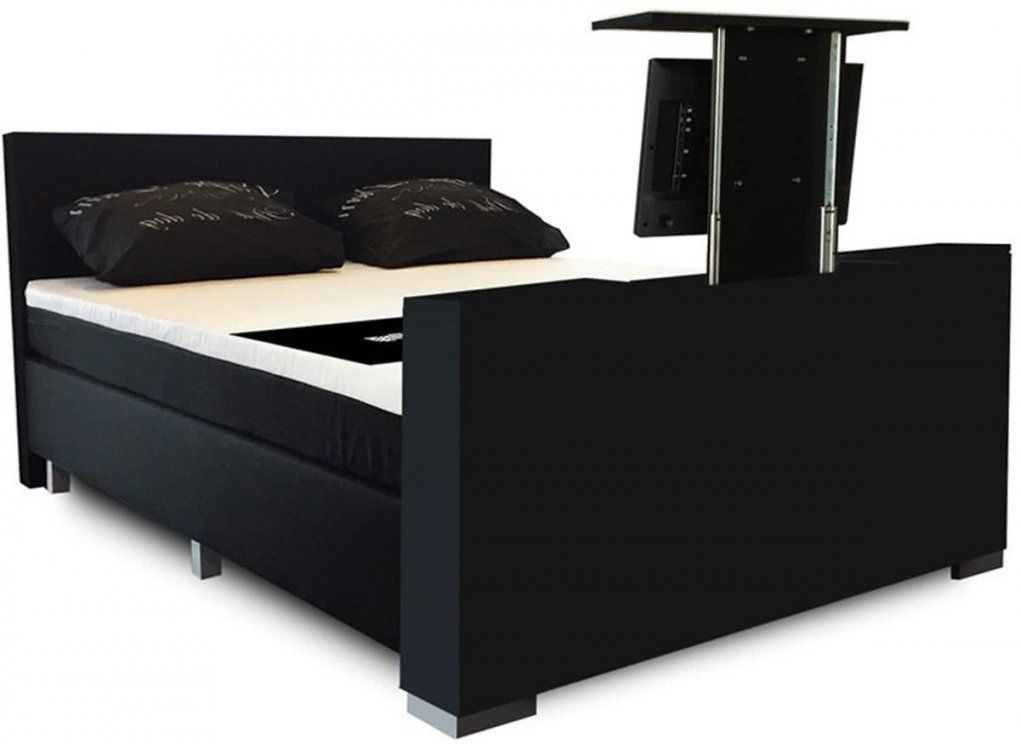Bol  Sleepnext Hq  Luxe Elektrische Boxspring Met Tv Lift von Boxspringbett Mit Tv Lift Photo