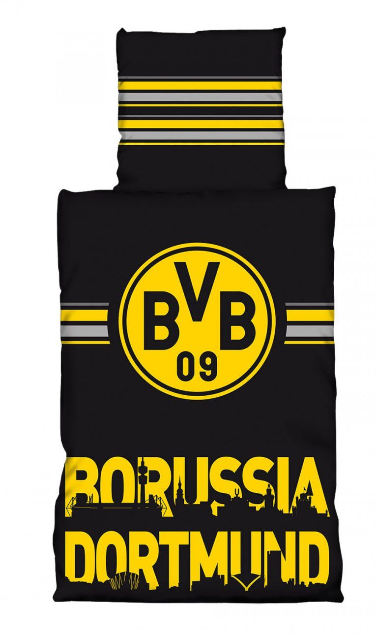 Borussia Dortmund Bvb Bettwäsche 135X200 Cm 155X220 Cm 100X135 Cm von Bvb Bettwäsche 155X220 Photo