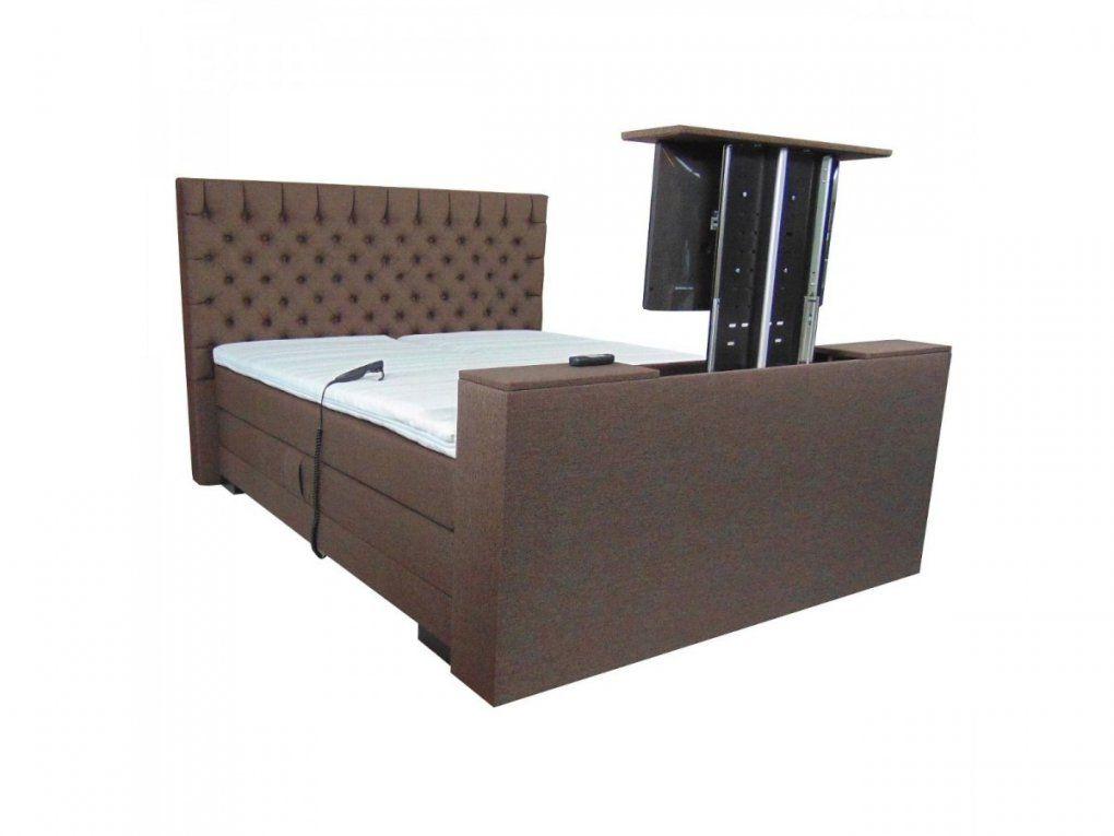 Boxspring Luxury  Elektrisch + Met Tv Lift  Aanbieding von Boxspringbett Mit Tv Lift Bild