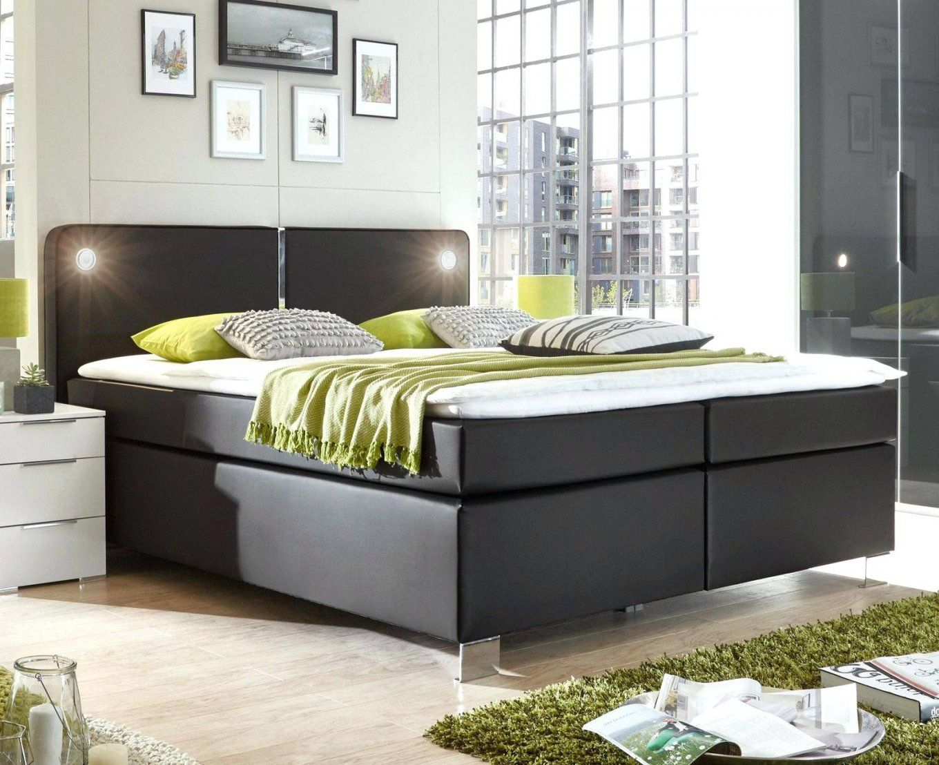 boxspringbett auf was achten stilvolles tramonti mit. Black Bedroom Furniture Sets. Home Design Ideas