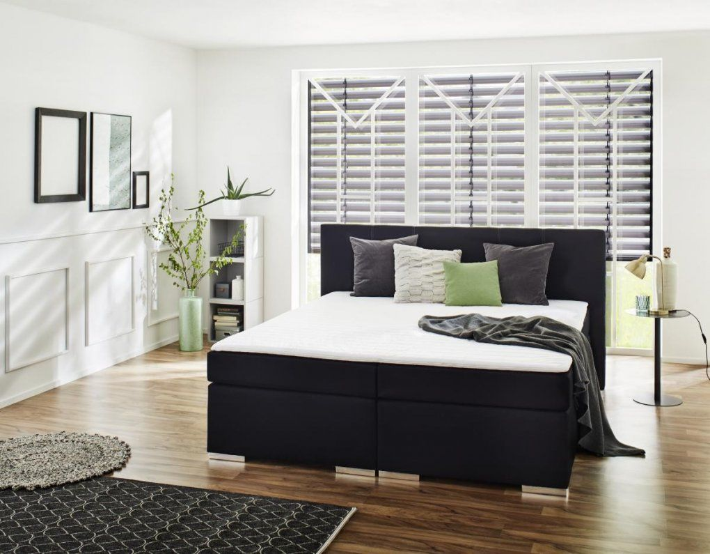 boxspringbett felix schwarz 180 cm online bei poco kaufen von poco dom ne boxspringbett bild. Black Bedroom Furniture Sets. Home Design Ideas