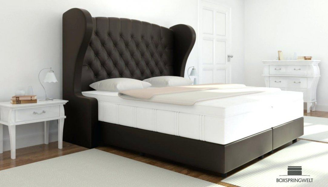 Boxspringbett King Size Kingsize Betten Header Doppelbett Ehebett von Boxspringbett Heaven Test Photo