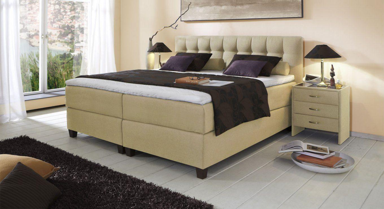 Boxspringbett Luciano Z B In Größe 180X200 Cm  Betten von Boxspringbett Höhe 70 Cm Bild