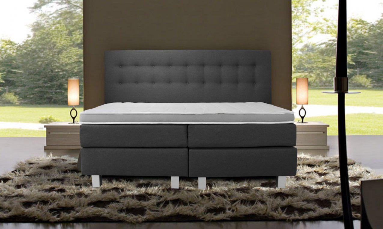 Boxspringbett Luxury Lissabon Mit Tvlift von Boxspring Bett Selber Zusammenstellen Bild
