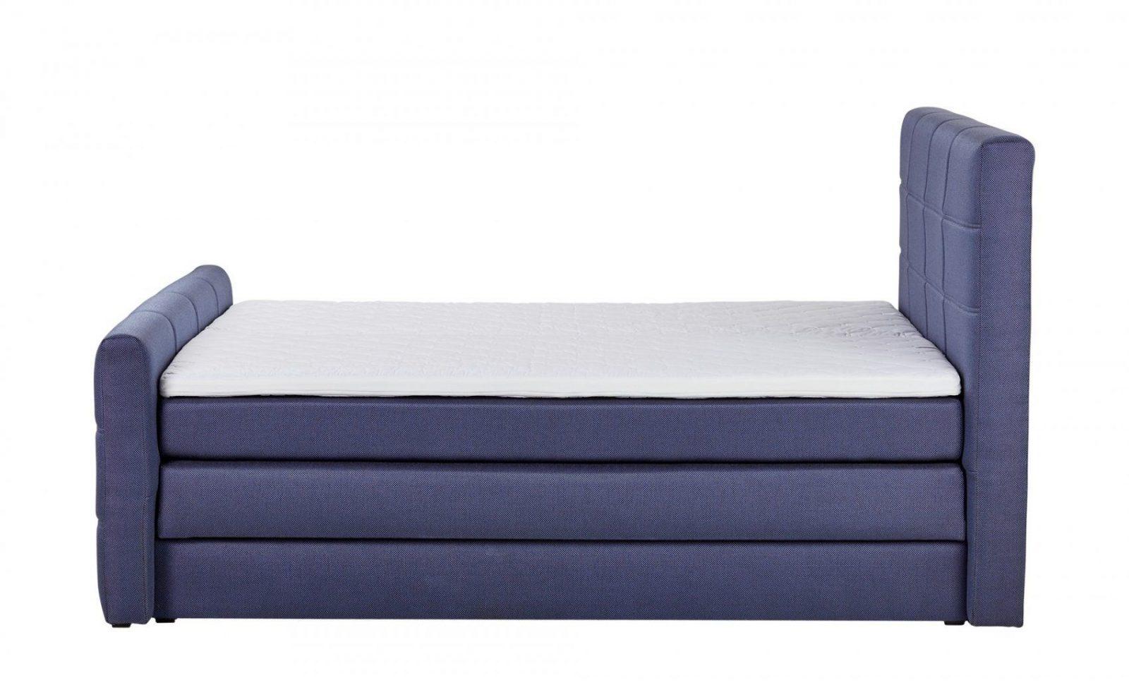 Boxspringbett Mit Bettkasten 180X200 Blau  Höffner von Höffner Boxspringbett Mit Bettkasten Bild