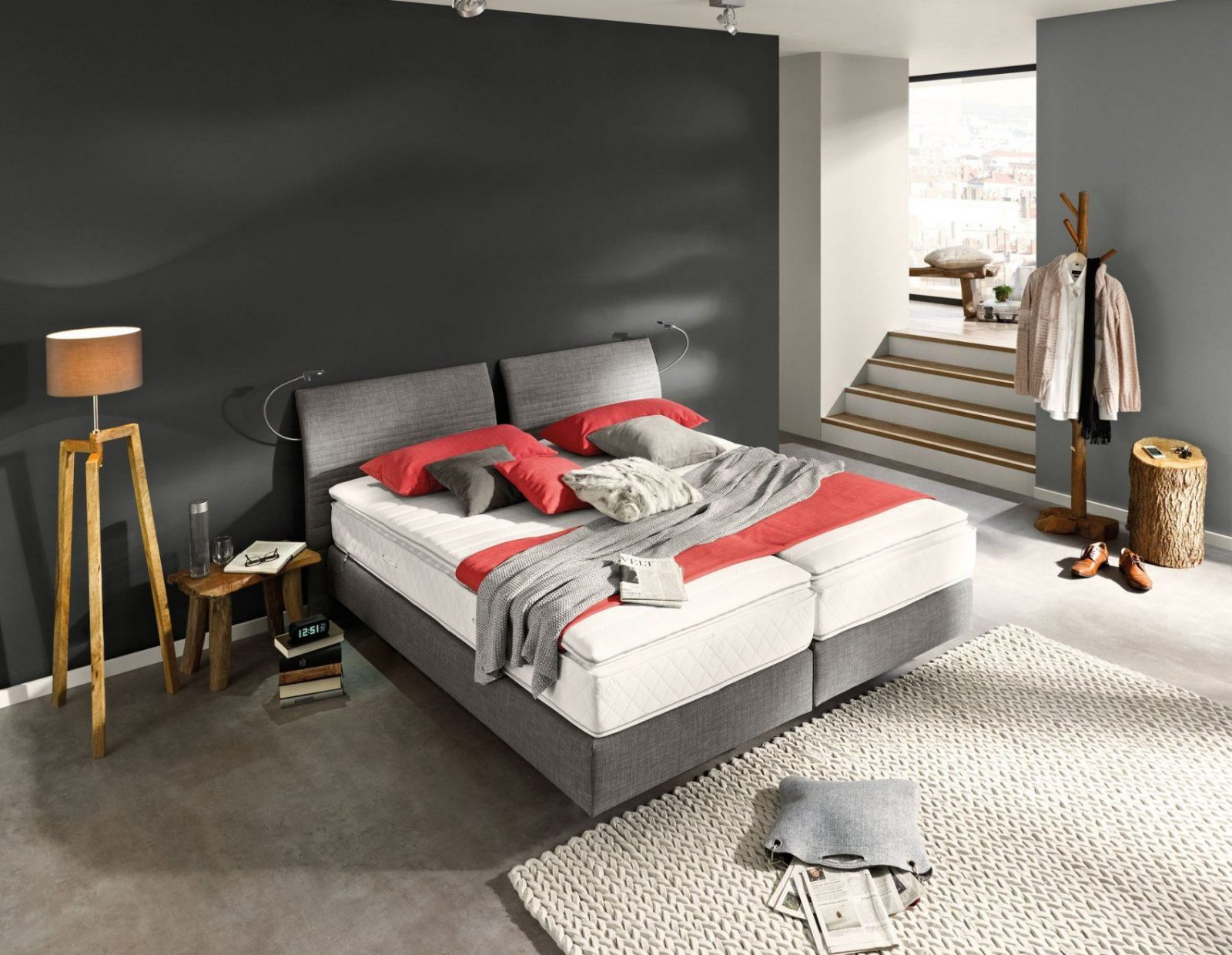 Boxspringbett Mr Evolution Select  Boxspringhighlight Von von Musterring Evolution Boxspringbett Bild