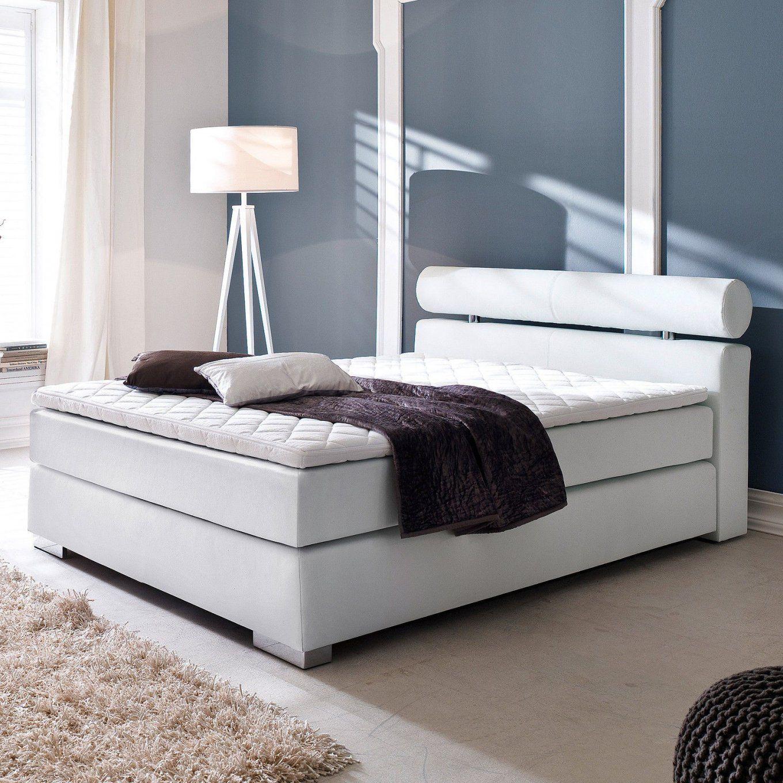 boxspringbetten mit niedrigem kopfteil haus design ideen. Black Bedroom Furniture Sets. Home Design Ideas