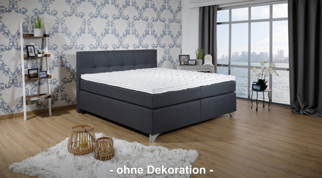 Breckle Boxspringbett Arga Best 180X220 Cm Inkl Geltopper Schlafen von Breckle Boxspringbett Inkl. Topper Photo