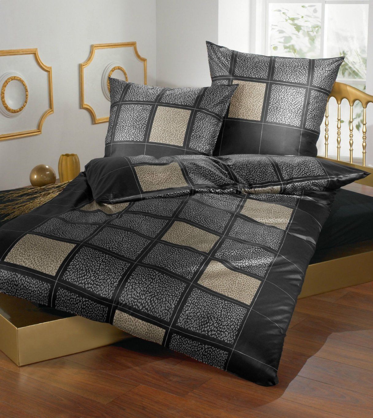 bettw sche 155x200 mako satin haus design ideen. Black Bedroom Furniture Sets. Home Design Ideas