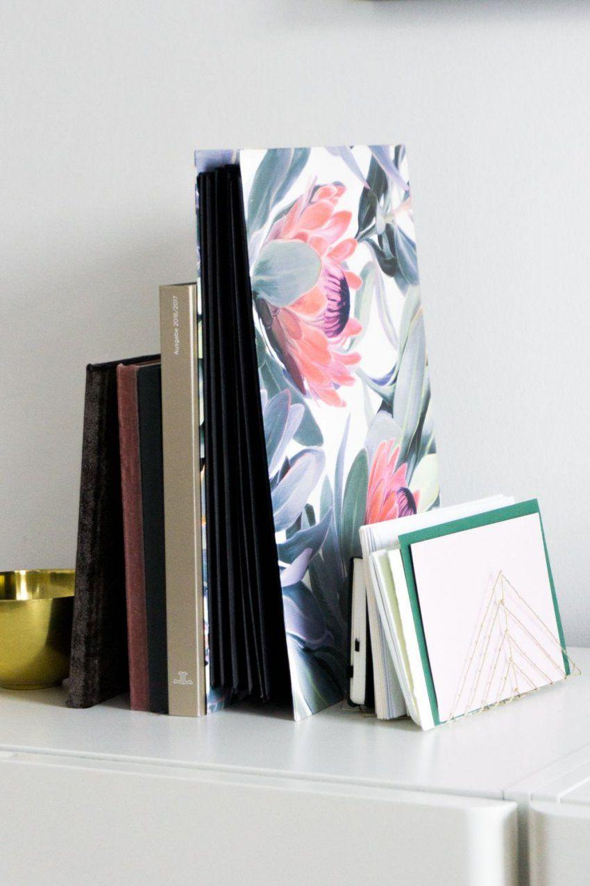 Briefhalter Selber Machen & Organizer Mit Protea Print  Briefhalter von Schreibtisch Organizer Selber Machen Bild