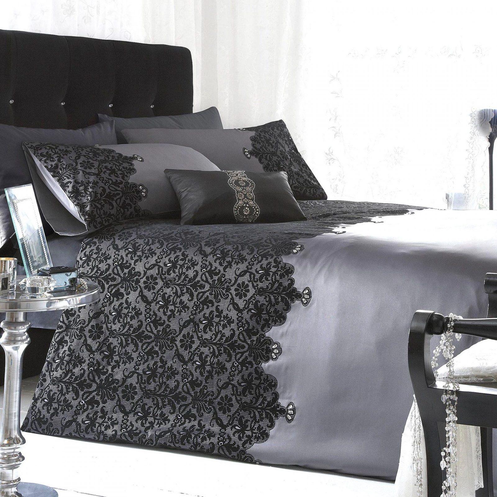 Brillant Ideen Bettwäsche Spitze Und Herrliche Wunderschöne Spitzen von Bettwäsche Mit Spitze Photo