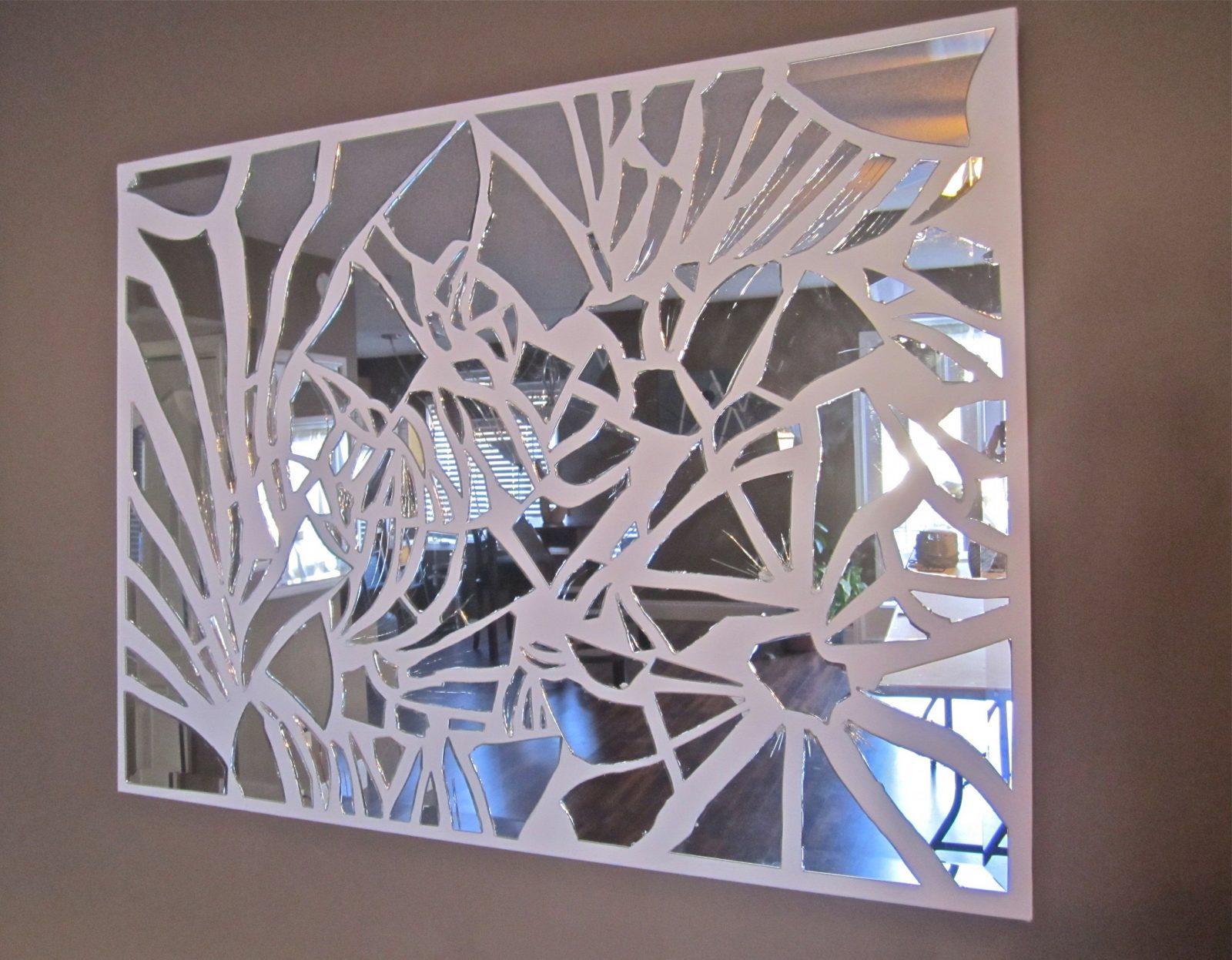 Broken Mirror On The Wall Who Is The Craftiest One Of All Haha von Spiegel Mosaik Selber Machen Photo
