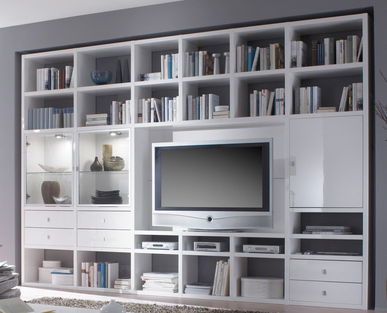 Bücherregal  Erstaunlich Neu Xxl Ikea Bucherregal Mit Turen Fif von Raumteiler Mit Tv Fach Bild