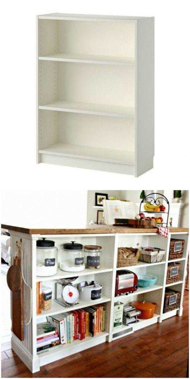 Bücherregal  Faszinierend Ikea Storage Kitchen Bucherregal Mit von Ikea Wandregal Weiß Küche Bild
