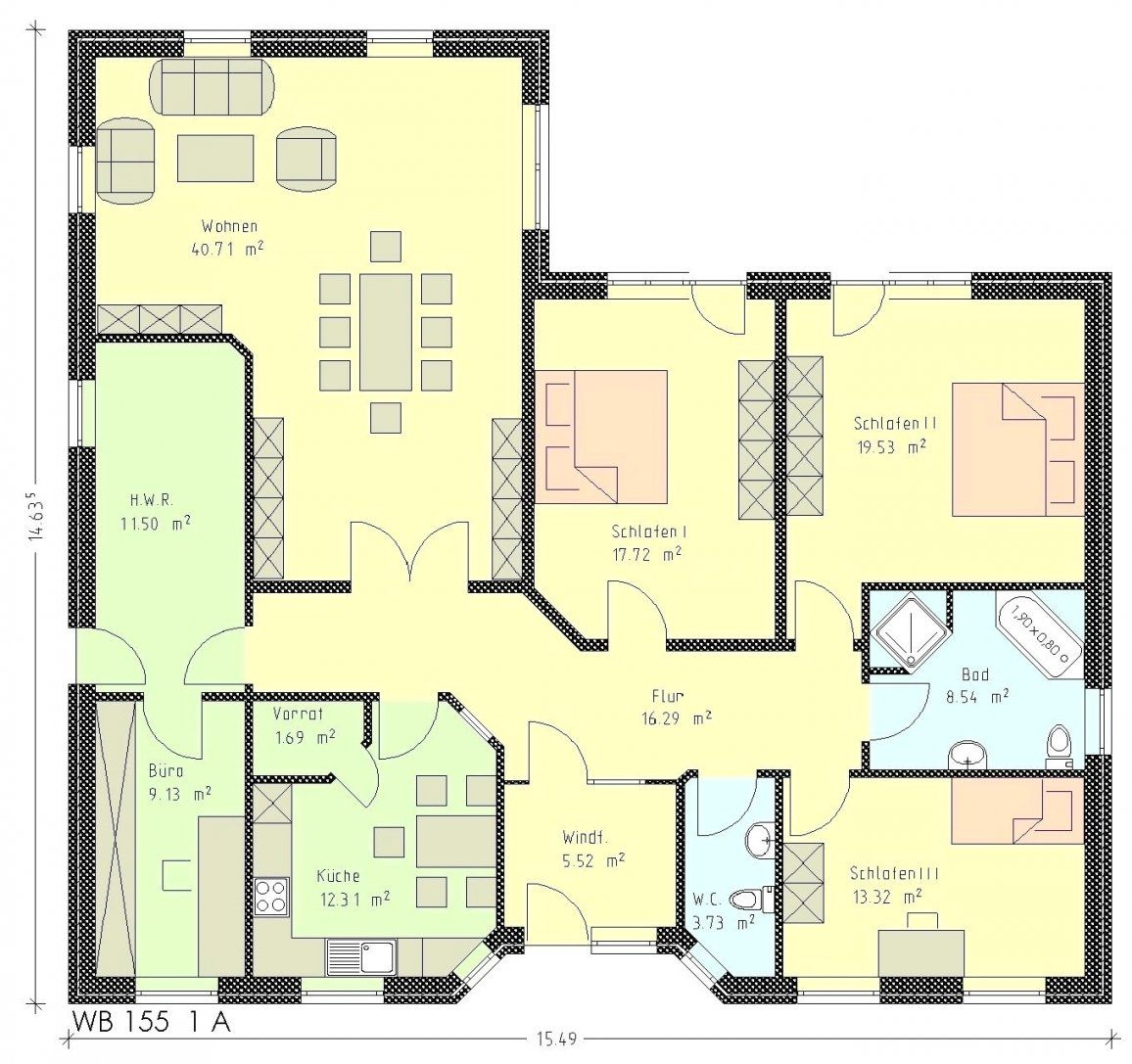 Bungalow Grundriss 120 Qm Mit Beste Bildideen Zu Hause Design 5 Und von Grundriss Bungalow 120 Qm Mit Garage Photo