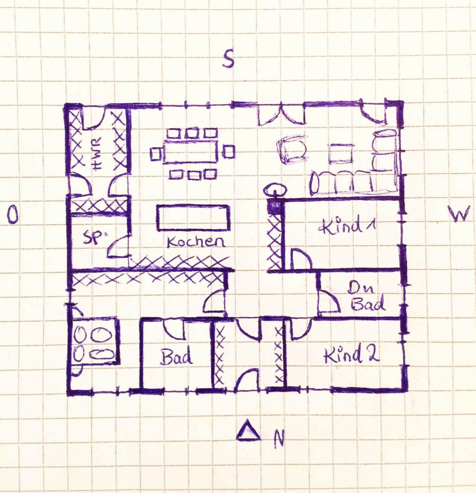 Bungalow Grundriss Mit Garage Inspirierend Grundriss Bungalow 120 Qm von Grundriss Bungalow 120 Qm Mit Garage Bild