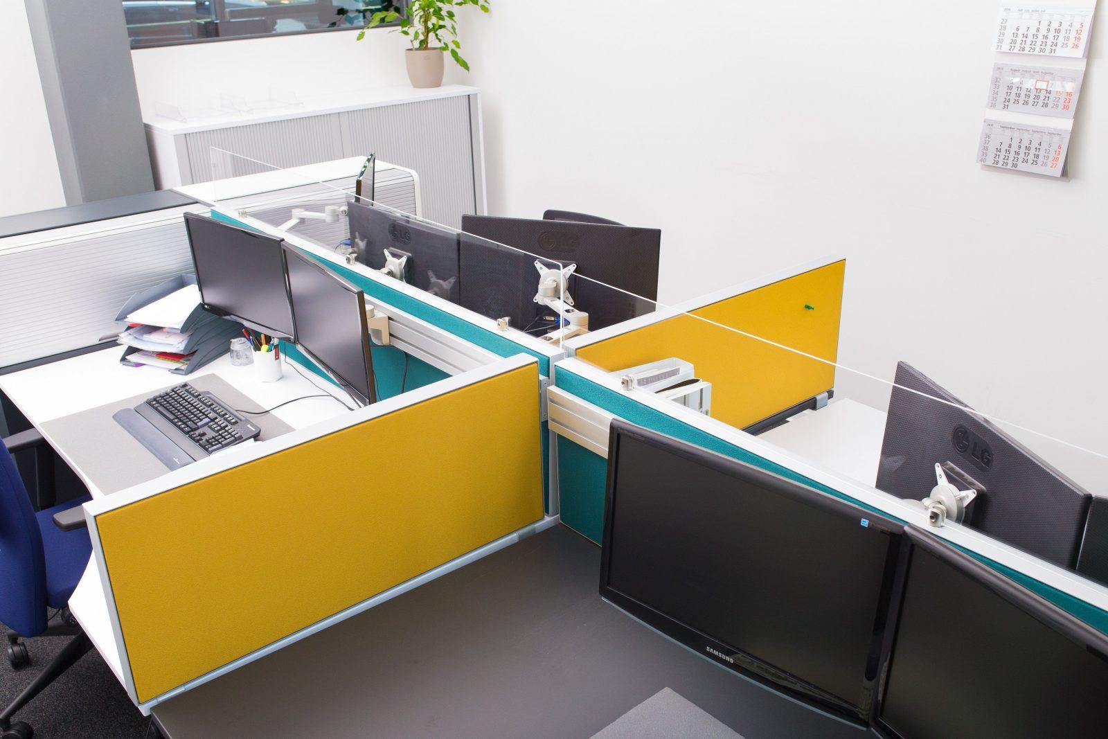 Elegantes Kleines Büro Einrichten Arbeitszimmer Einrichten