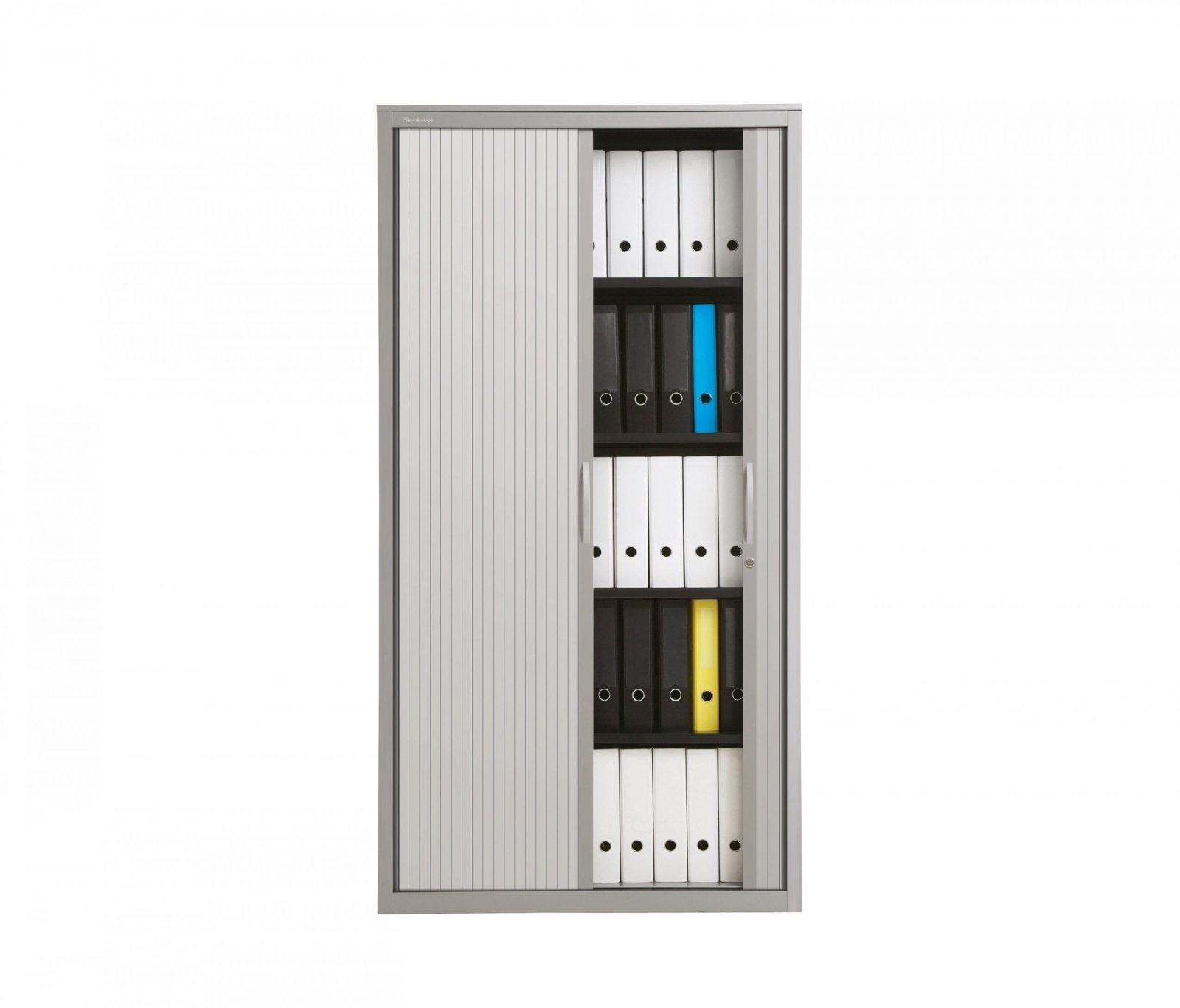 Büroschränke Mit Rollfronten  Hochwertige Designer Büroschränke von Schrank Mit Rolltür Front Bild