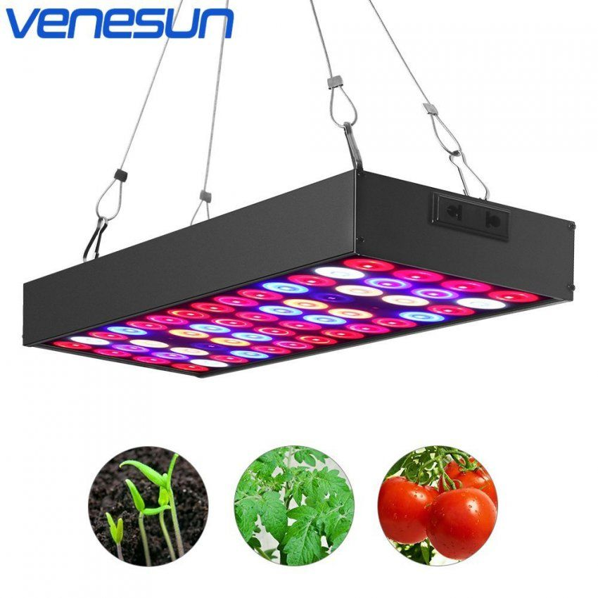 Buy Led Grow Light Panel 36W Venesun Full Spectrum With Ir & Uv von Grow Led Panel Selber Bauen Bild