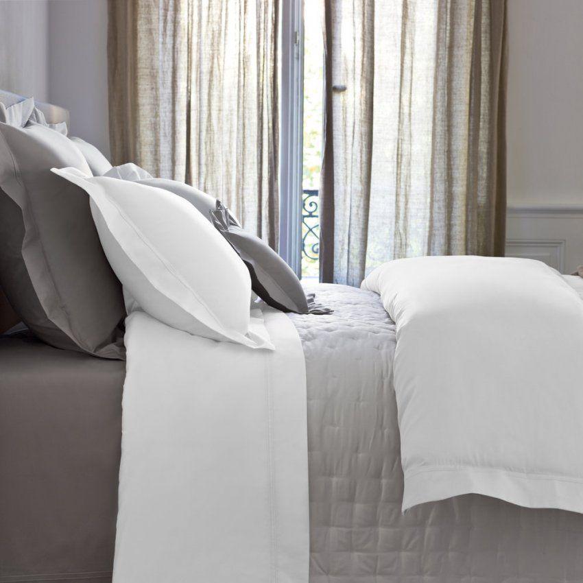 Buy Yves Delorme Triomphe Sateen Duvet Cover  White  Amara von Yves Delorme Bettwäsche Photo