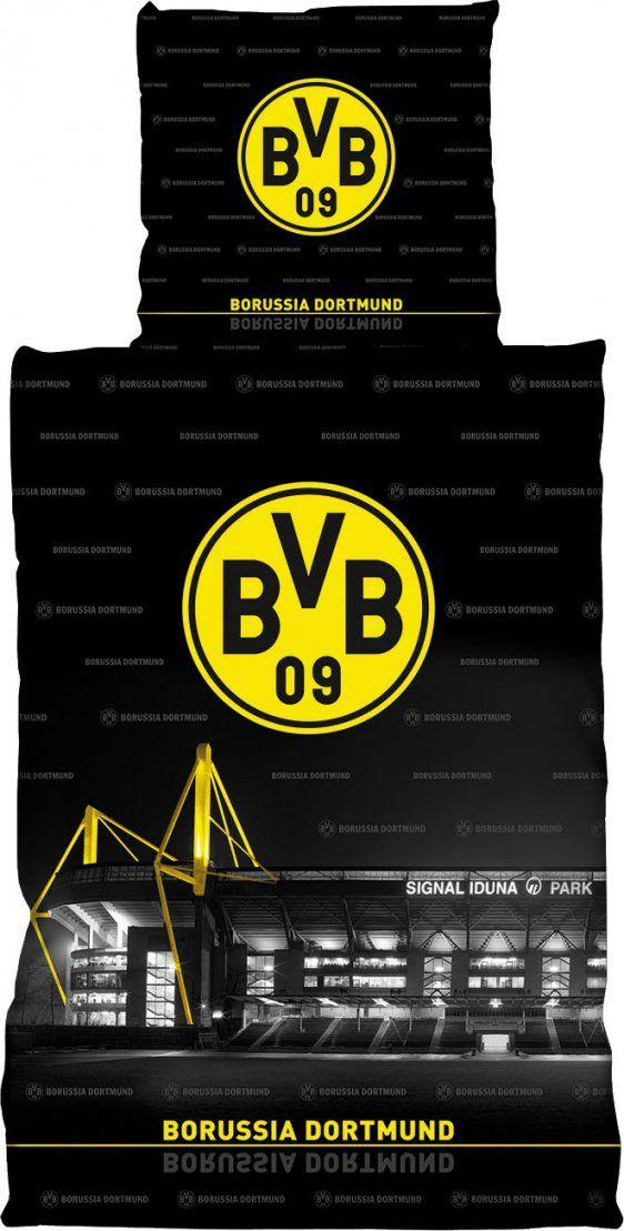 Bvb Borussia Dortmund Bettwäsche 135X200 Cm 155X220 Cm 100X135 Cm von Bvb Bettwäsche 135X200 Bild
