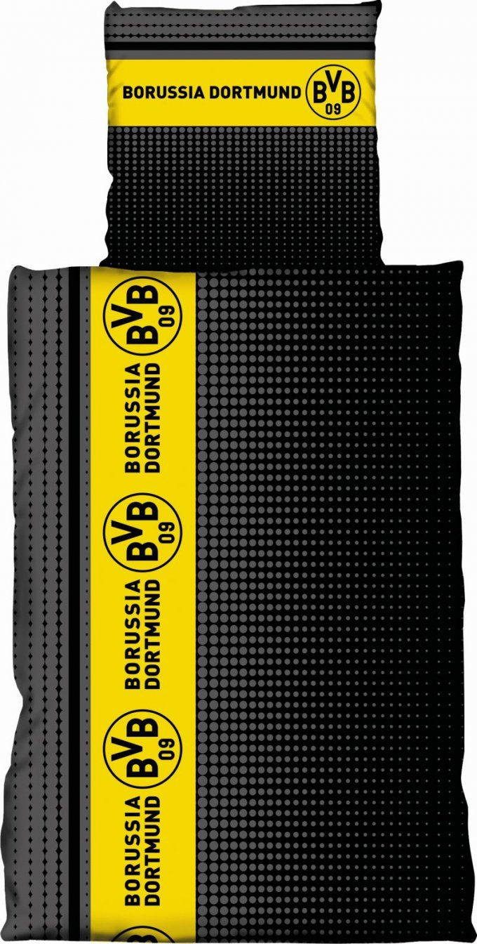 Bvb Borussia Dortmund Bettwäsche 135x200 Cm 155x220 Cm 100x135 Cm