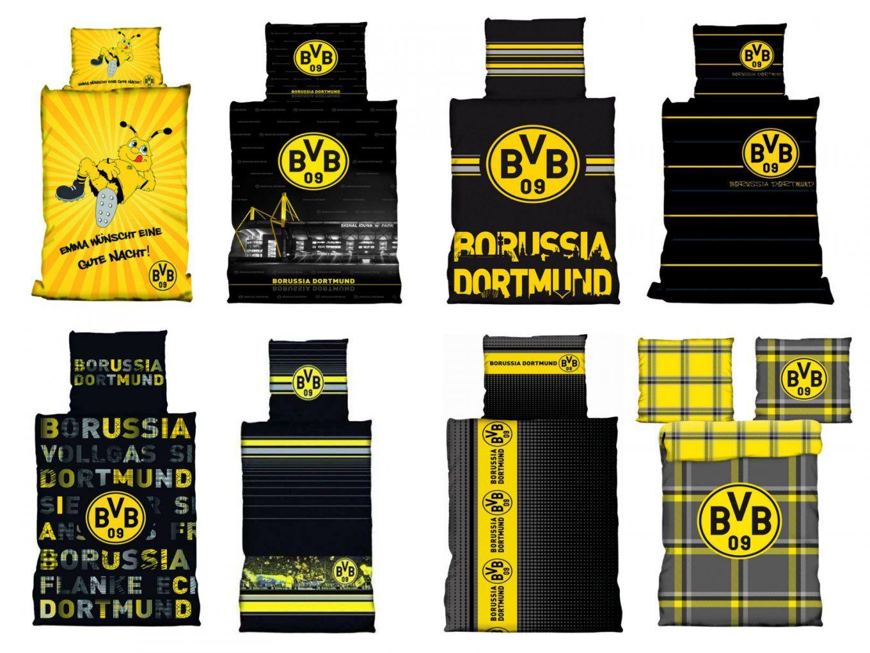 Bvb Borussia Dortmund Bettwäsche 135X200 Cm 155X220 Cm 100X135 Cm von Bvb Bettwäsche 155X220 Bild