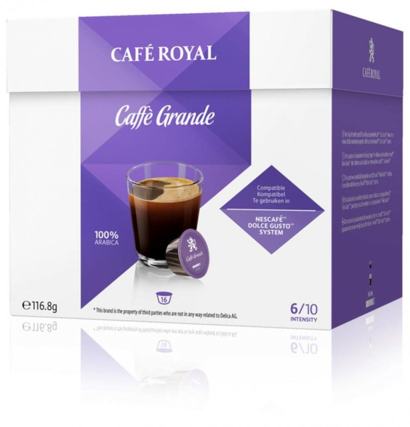 Café Royal Caffè Grande  16 Nescafé® Dolce  Real von Dolce Gusto Angebot Real Photo
