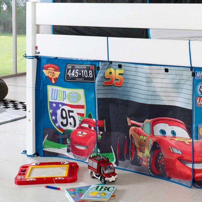Cars Hochbett von Cars Hochbett Vorhang Set Photo