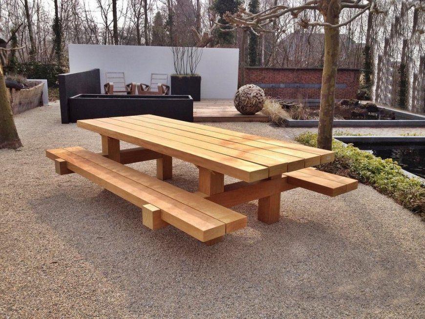 Casa Padrino Gartenmöbel Set Rustikal Tisch + 2 Garten Bänke 180 X von Rustikale Gartenmöbel Aus Eiche Photo