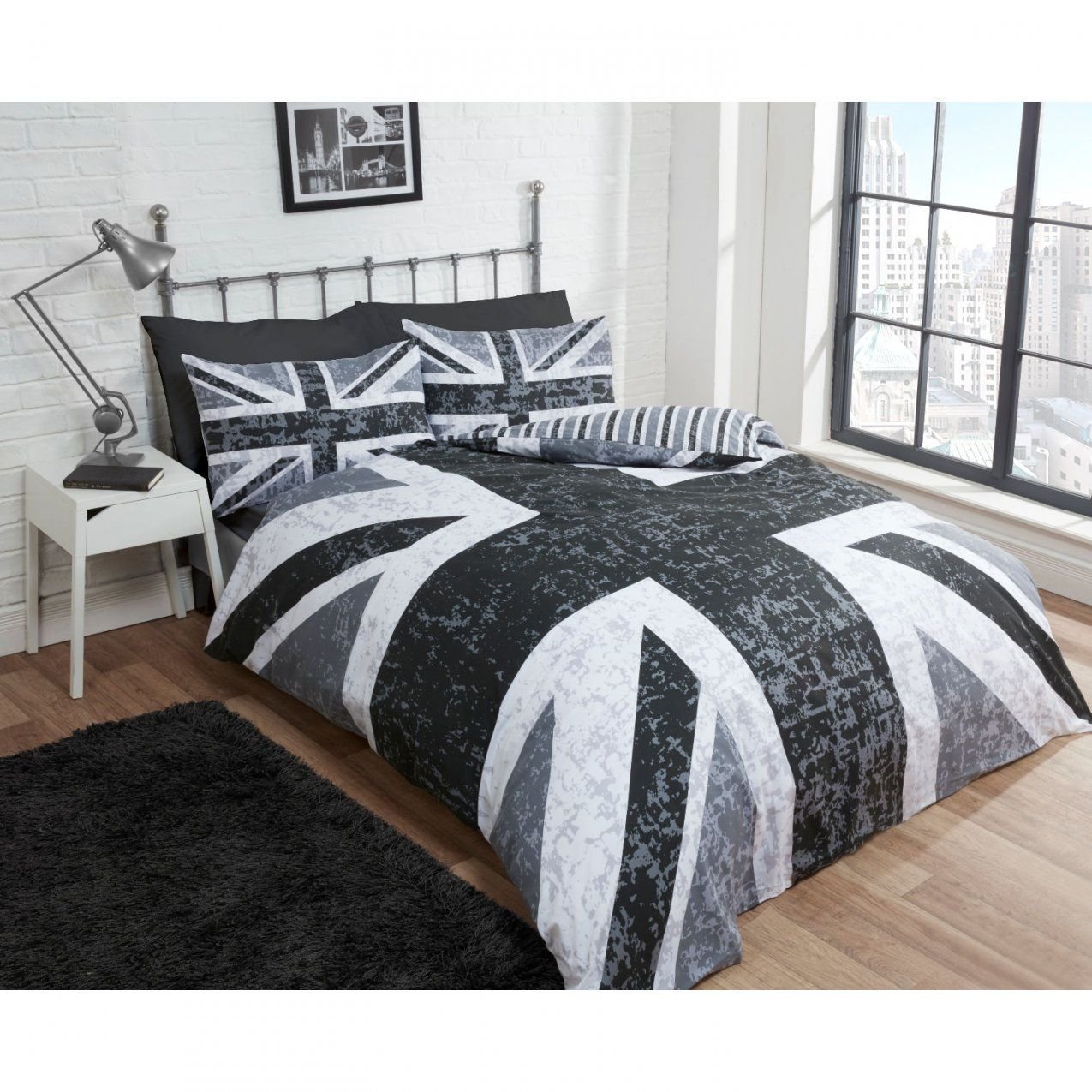 Cascade Union Jack Duvet Cover Set  Next Day  Select Day Delivery von Bettwäsche Union Jack Bild