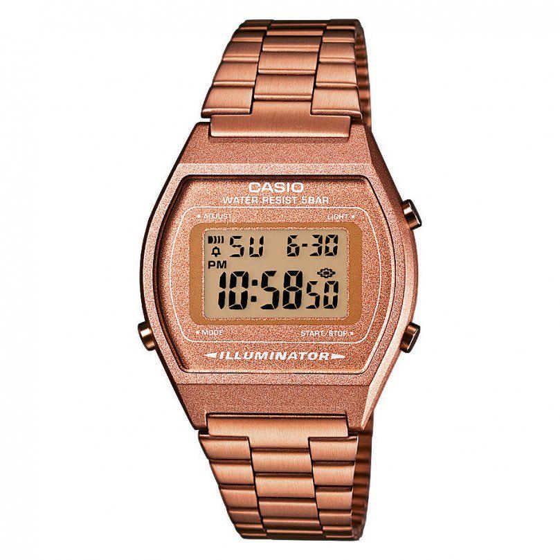 Casio Retro B640Wc5Aef Bei Christ Online Kaufen von Casio Uhr Damen Rosegold Photo