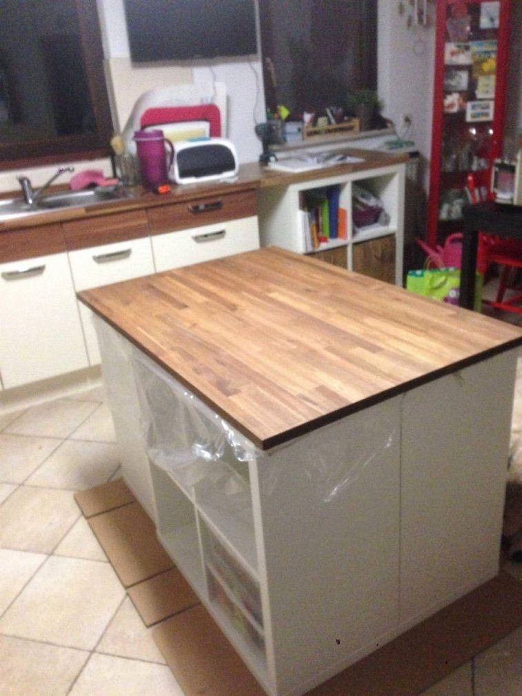 Charmant Bauen Eine Kücheninsel Galerie  Küchenschrank Ideen von Kücheninsel Selber Bauen Ikea Bild