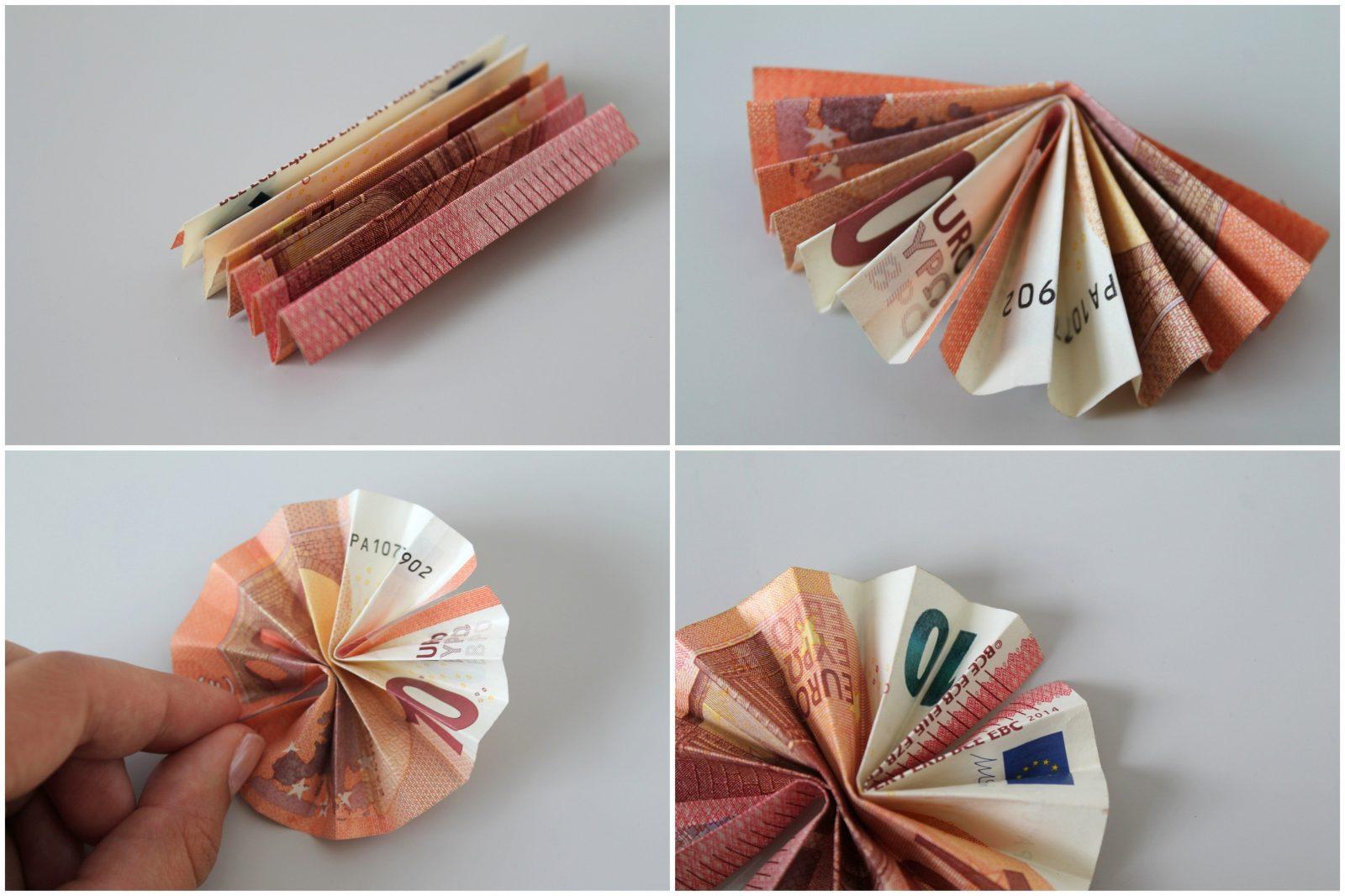 Charmant Geld In Blumen Falten Bilder  Innenarchitekturkollektion von Blumen Falten Aus Geldscheinen Bild