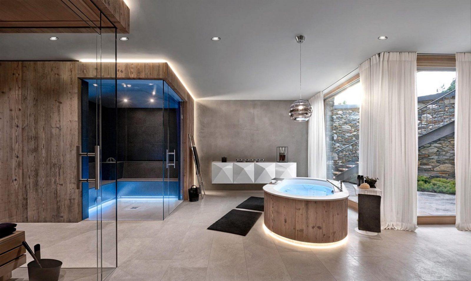 Charmant Luxus Badezimmer Mit Whirlpool  Kpelavrio von Luxus Badezimmer Mit Whirlpool Photo