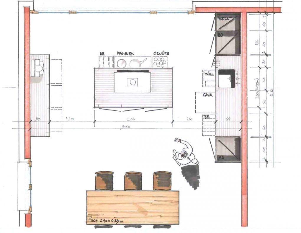 Charmante Ideen Küche Grundriss Und Bemerkenswerte Moderne Küchen von Grundriss Küche Mit Kochinsel Photo