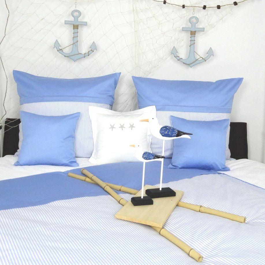 Charmante Ideen Maritime Bettwäsche Und Beeindruckende Mit Zierstich von Maritime Bettwäsche Günstig Bild