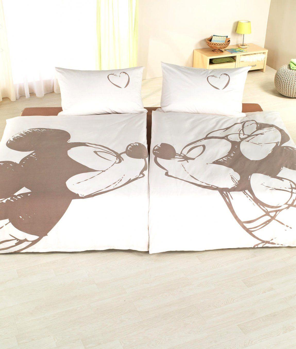 Charmante Ideen Partner Bettwäsche Und Fantastische Mickey Mouse Im von Partner Bettwäsche Günstig Bild