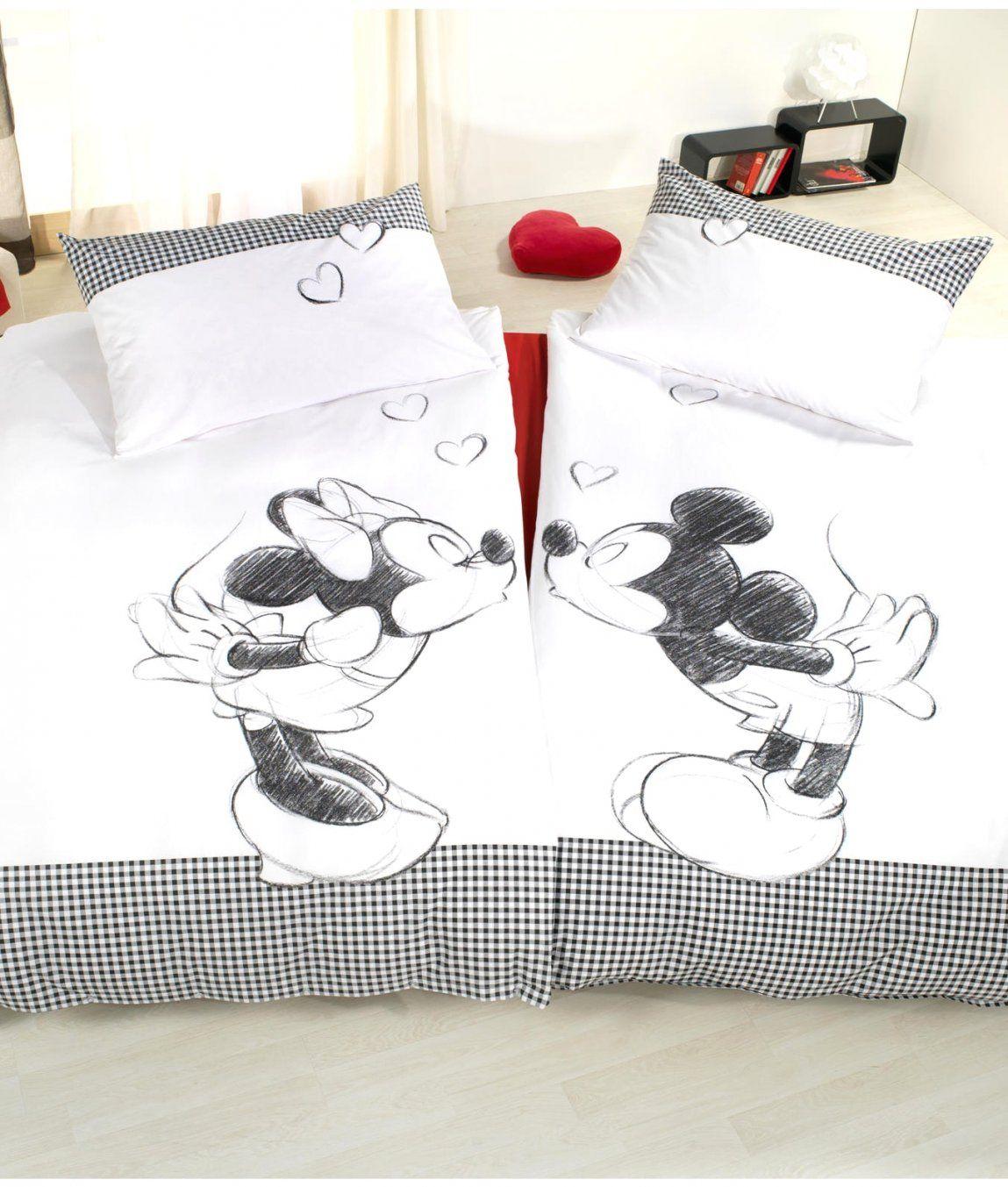 Charmante Ideen Partner Bettwäsche Und Phantasievolle Mickey Mouse von Partner Bettwäsche Günstig Photo