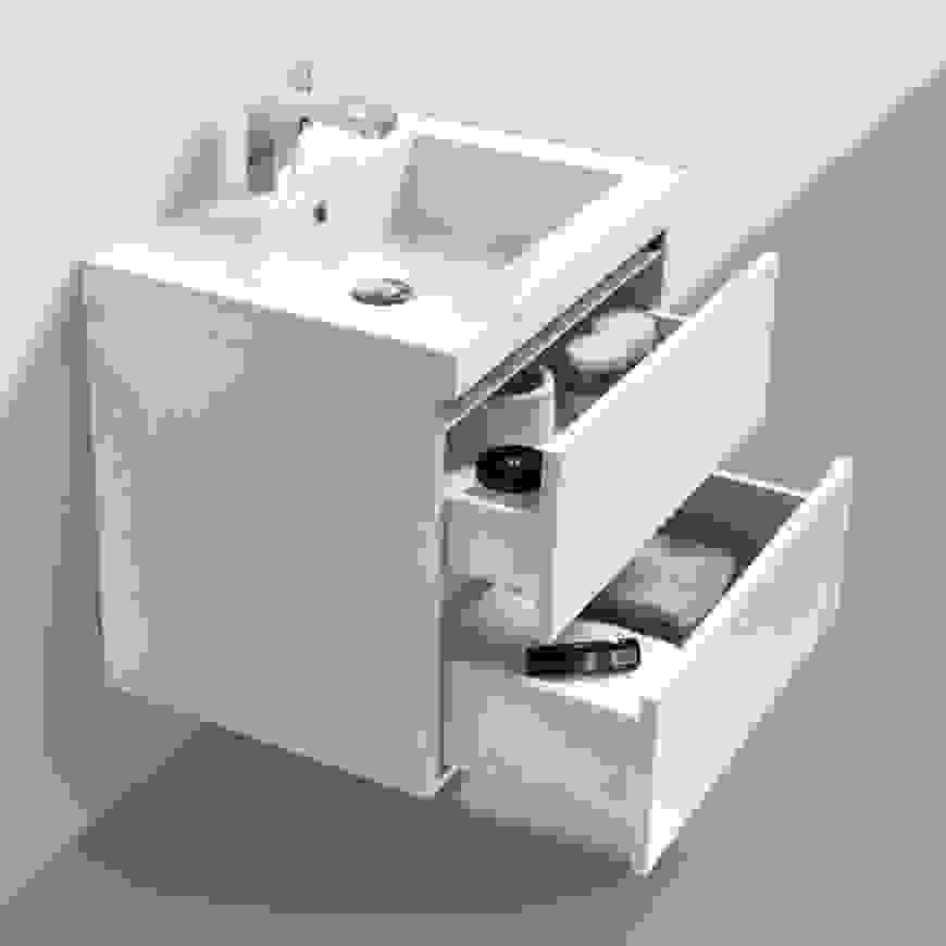 Charming Waschbecken Eckig Cm Rund Waschtisch Bis Tiefe Von von Waschbecken 40 Cm Tief Bild