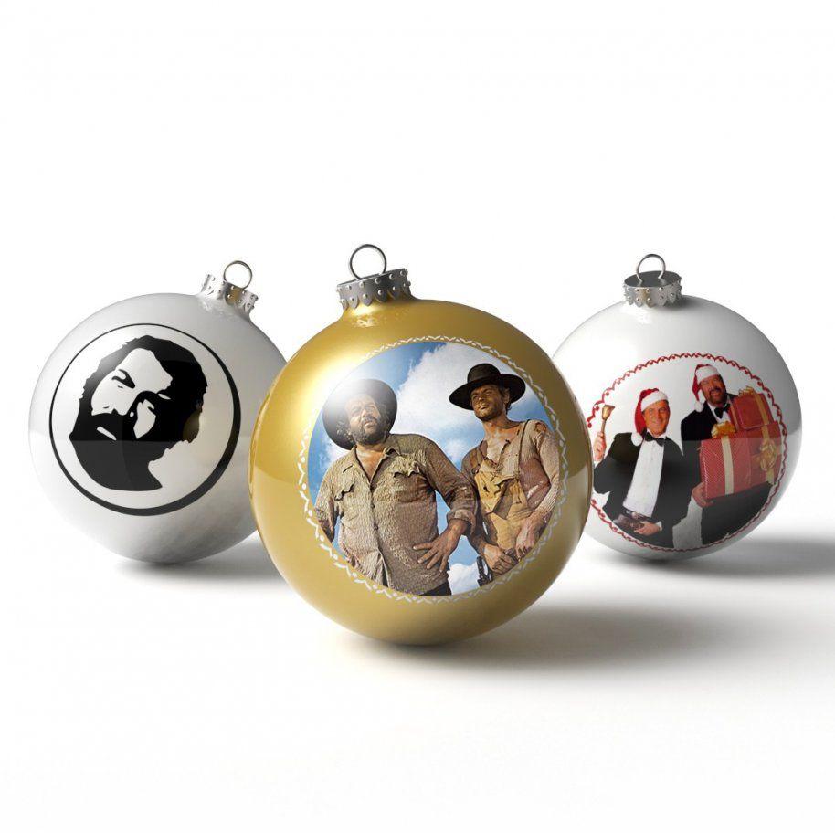 Christbaumkugeln  Weihnachtskugeln (3'er Set)  Bud Spencer® von Bud Spencer Bettwäsche Bild