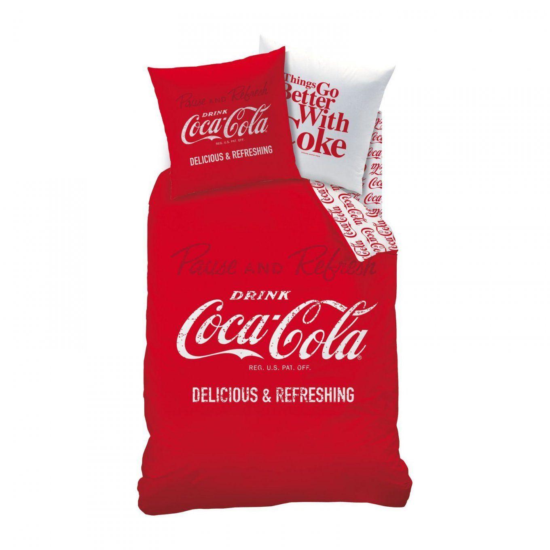 Coca Cola Dekbedovertrekset  Rood  Brandalley von Coca Cola Bettwäsche Photo