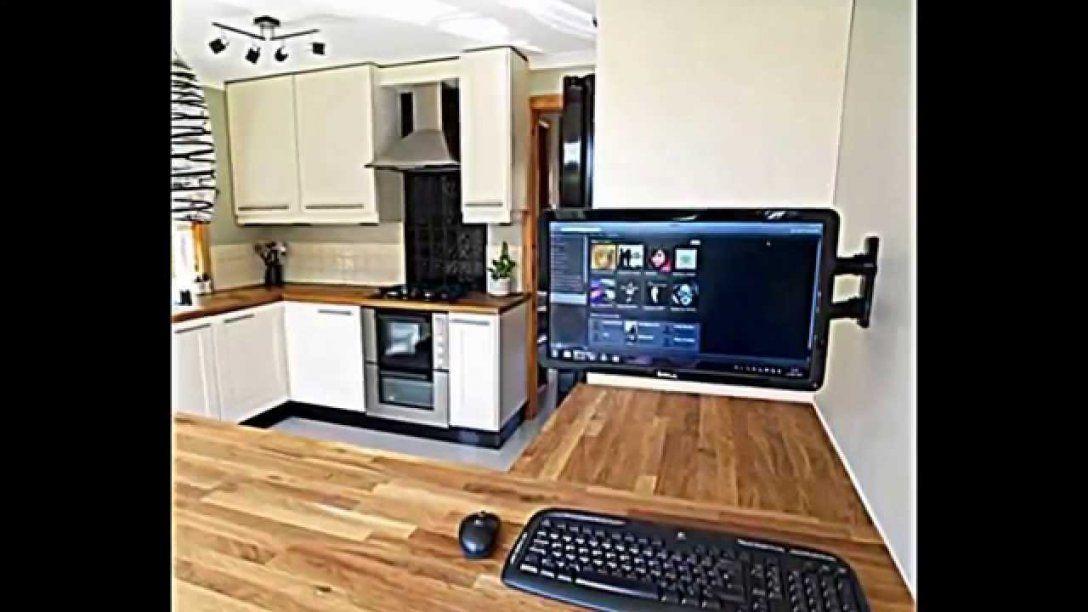Computer In Der Küche Einrichten  Praktische Gestaltungsidee  Youtube von Pc In Schrank Einbauen Photo