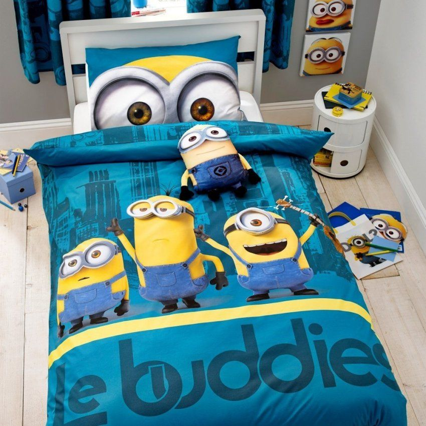 Cool And Opulent Minion Bett Unusual Design Haus Planen Beste von Minions Bettwäsche Lidl Bild