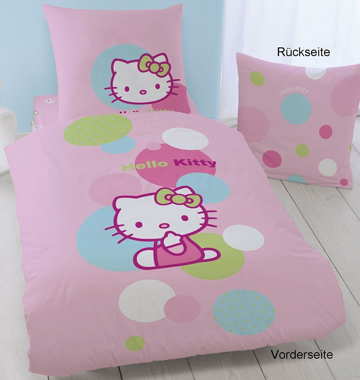 hello kitty bettw sche 100x135 haus design ideen. Black Bedroom Furniture Sets. Home Design Ideas
