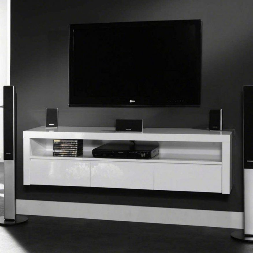 Cool Tv Lowboard Weiß Hochglanz Hängend 30 30 30 Hausumbau von Tv ...