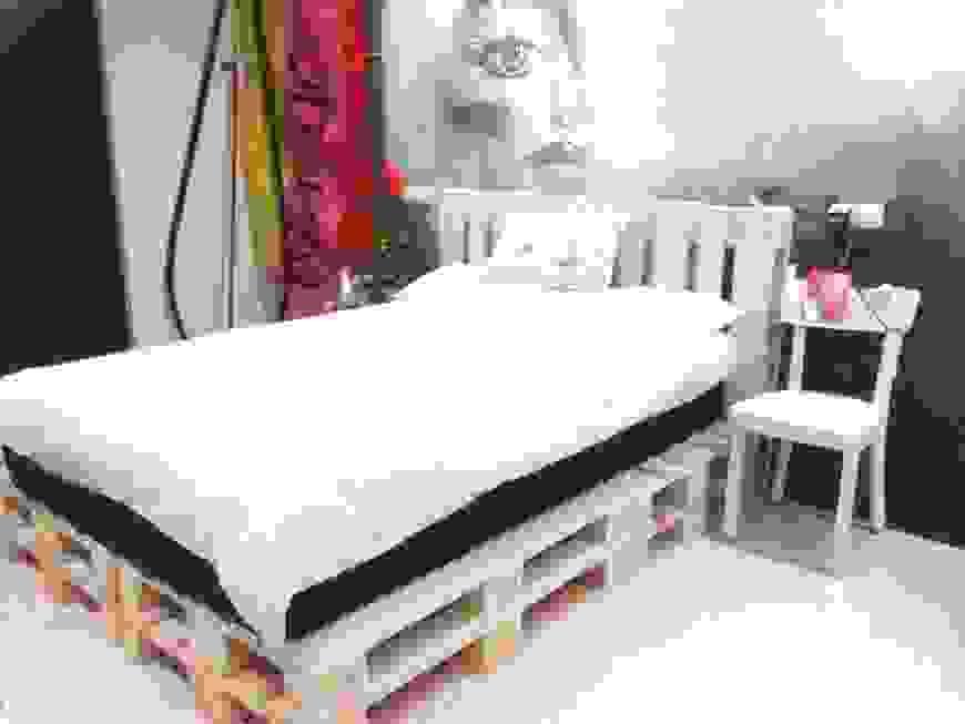 Cooles Bett Selber Bauen Perfect Bett Aus Paletten Mbel Selber von Cooles Bett Selber Bauen Photo