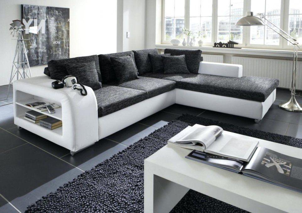 Couch Schwarz Hay Can 3 Sitzer Sofa Gestell Weis Weiss Kariert Leder von Sofa Schwarz Weiß Gestreift Bild